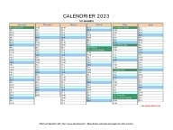 calendrier 2023 vierge