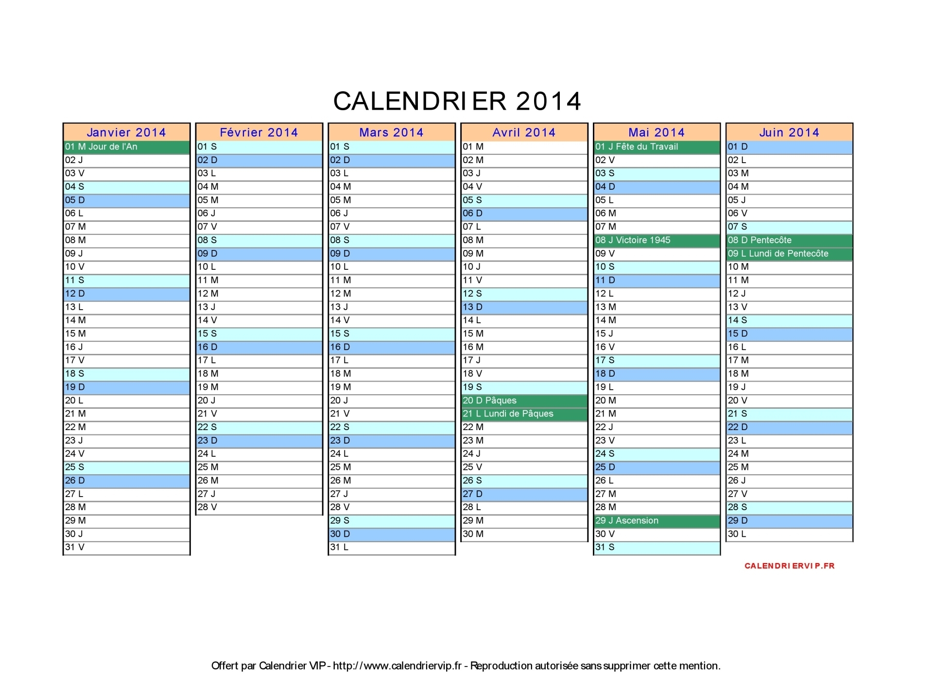Calendrier 2014 imprimer 2017 2018 best cars reviews - Calendrier scolaire 2014 2015 ...
