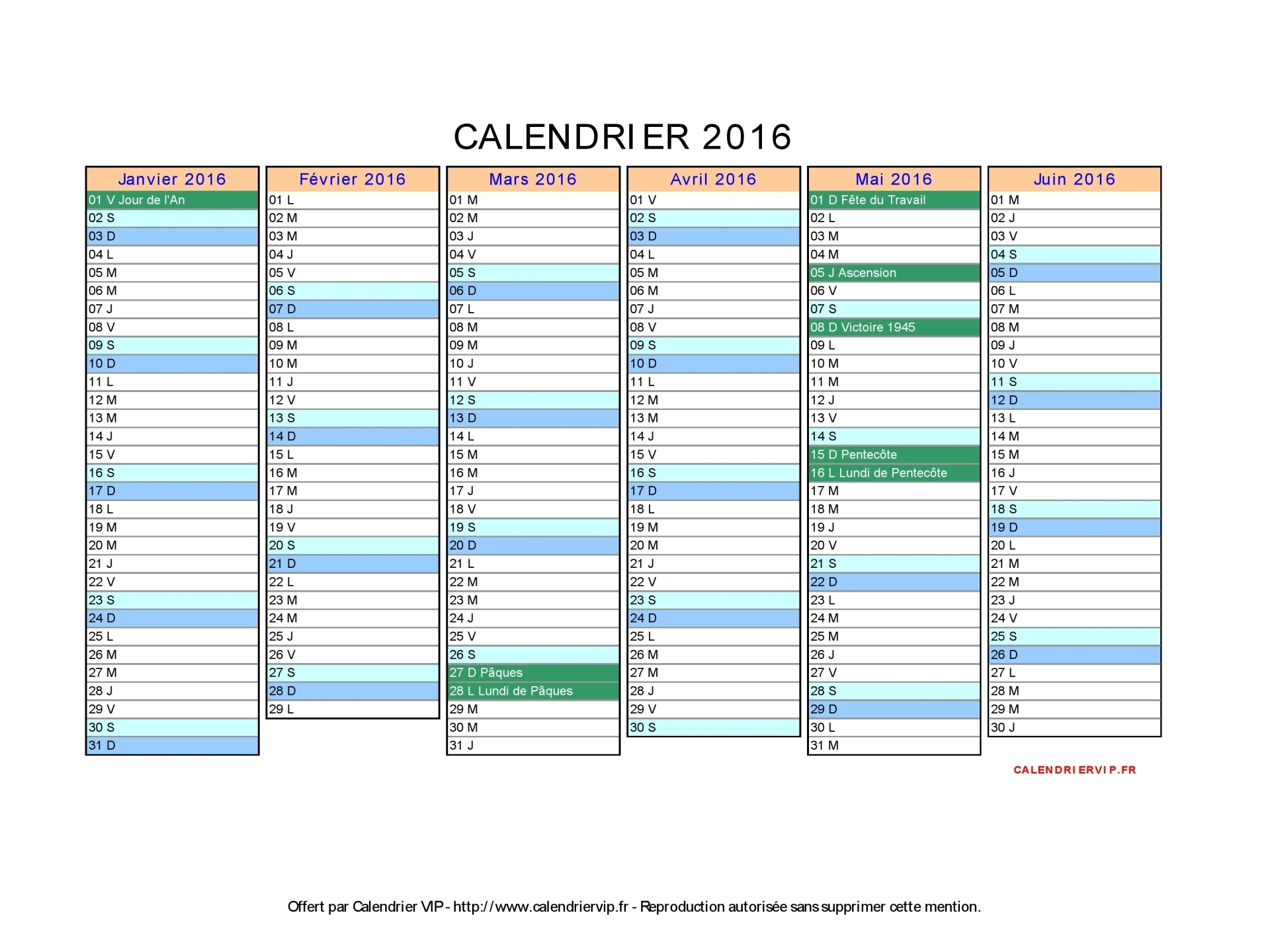calendrier 2016 2017 imprimer gratuit en pdf et excel. Black Bedroom Furniture Sets. Home Design Ideas