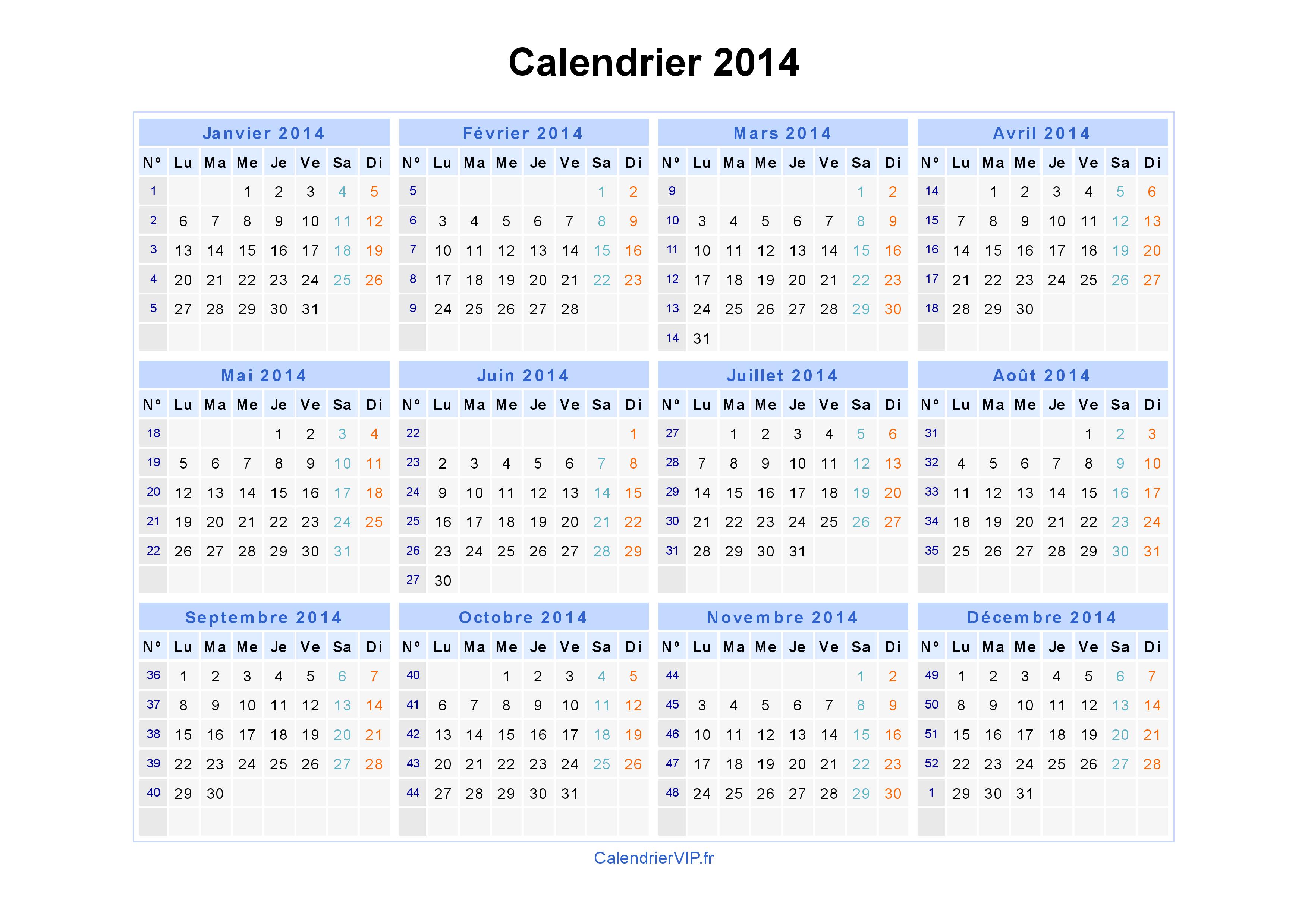 Calendrier 2015 gratuit imprimer pdf a3 new calendar for Calendrier mural gratuit