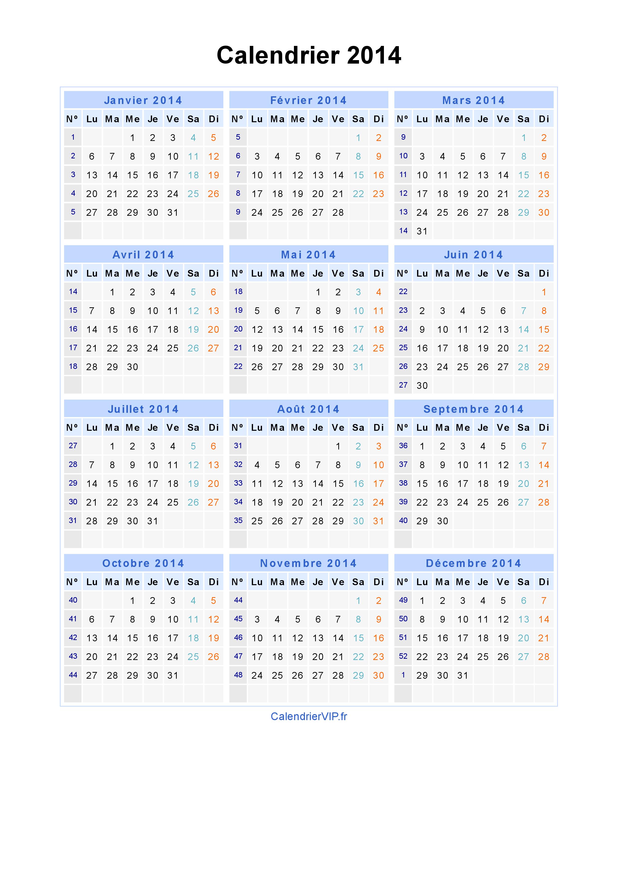 excel calendrier 2014 des photoa, des photoa de fond, fond d'écran
