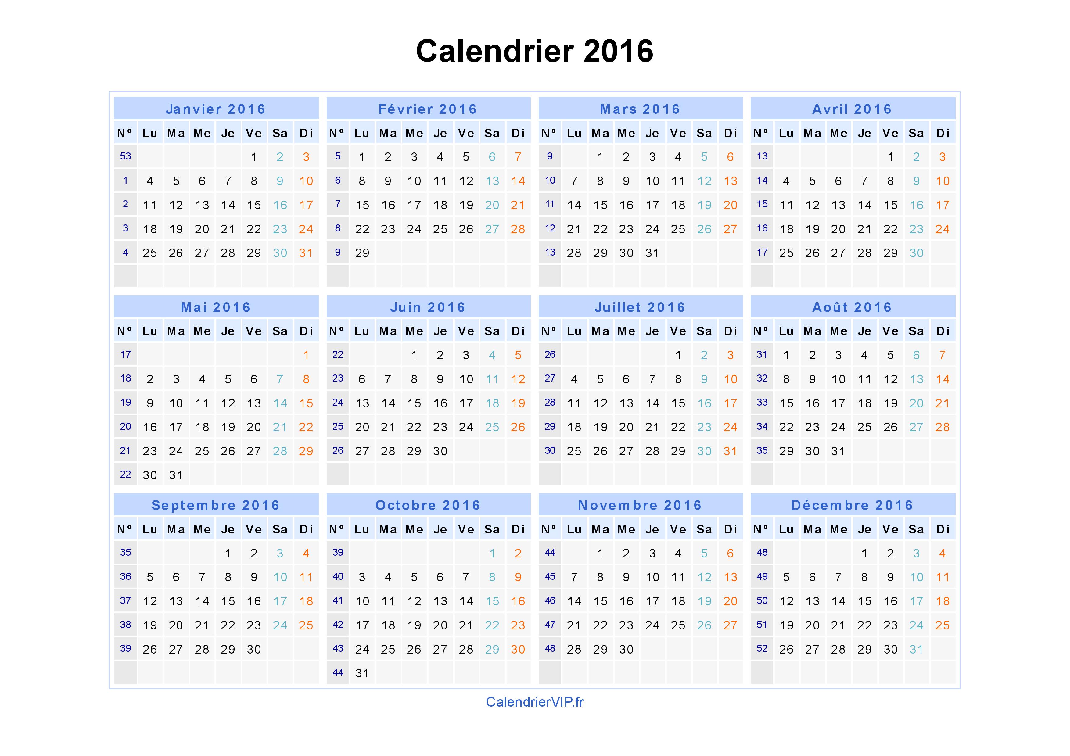 Calendrier 2016 arts et voyages - Calendrier lunaire decembre 2016 ...