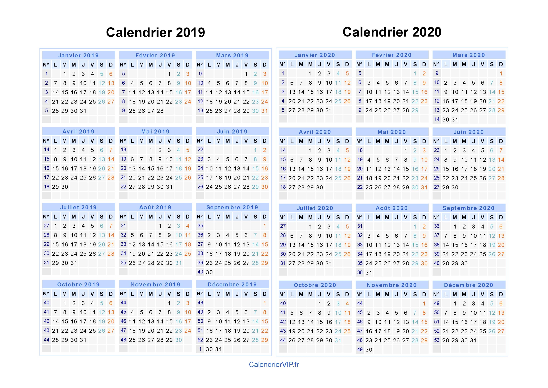 Calendrier Scolaire Zone B 2019 Et 2020 A Imprimer.Telecharger Calendrier Scolaire 2019 2020 Pdf Calendrier
