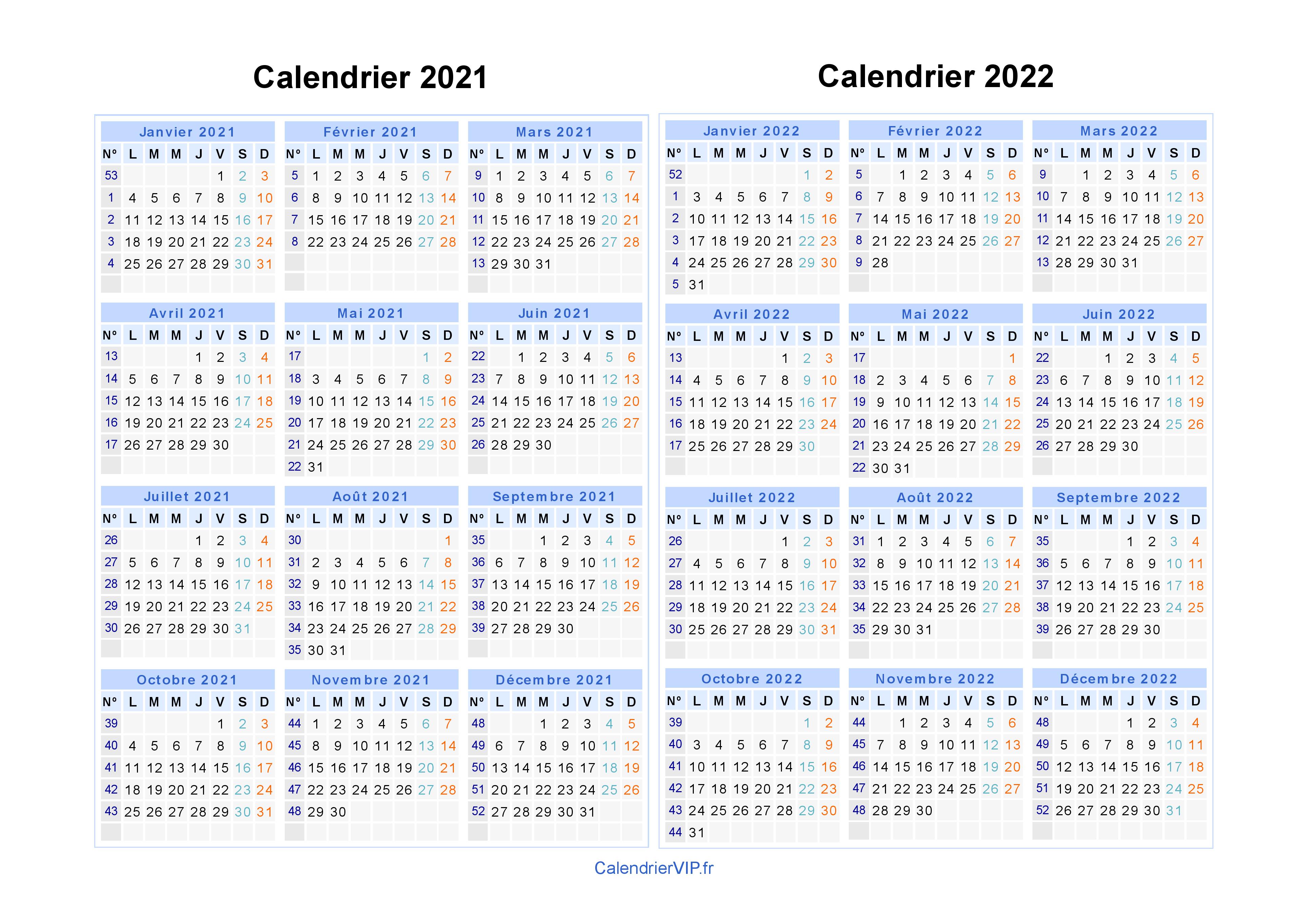 Calendrier Annee Scolaire 2021 2022 Calendrier 2021 2022 à imprimer gratuit en PDF et Excel